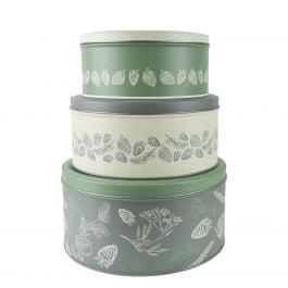 23.2cm Dig For Victory Nest of Storage Tins by Kent & Stowe