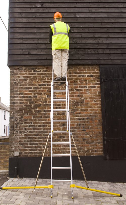 Stabilised Hunter Ladder 4.1m