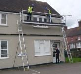 Ladder staging kit High Level Working Platform complete: 2m x 600mm