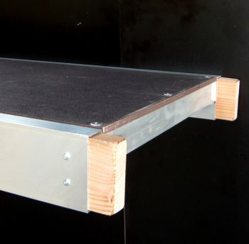 Ladder staging boards for High Level Working Platform: 5m x 600mm with mid board post sockets