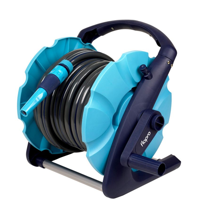 Flopro 2-in-1 20m Compact Hose Reel