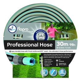 Flopro Elite Professional 30m 6 Layer Garden Hose