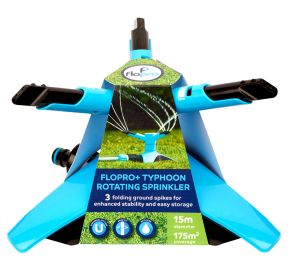 Flopro+ Typhoon Rotating Garden Sprinkler