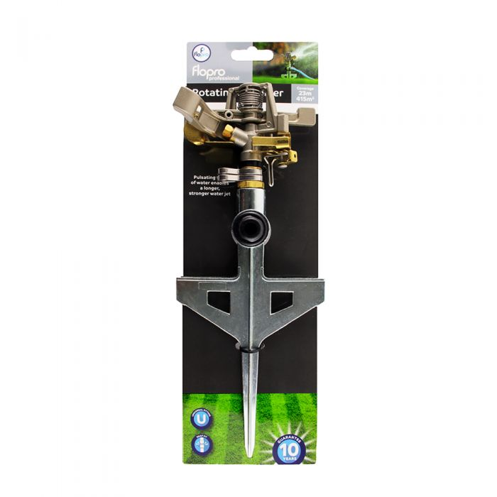Flopro Elite Rotating Garden Sprinkler