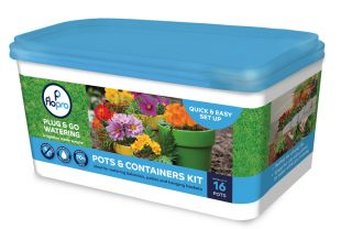 Flopro Pots & Container Watering and Irrigation Kit (16 pots)