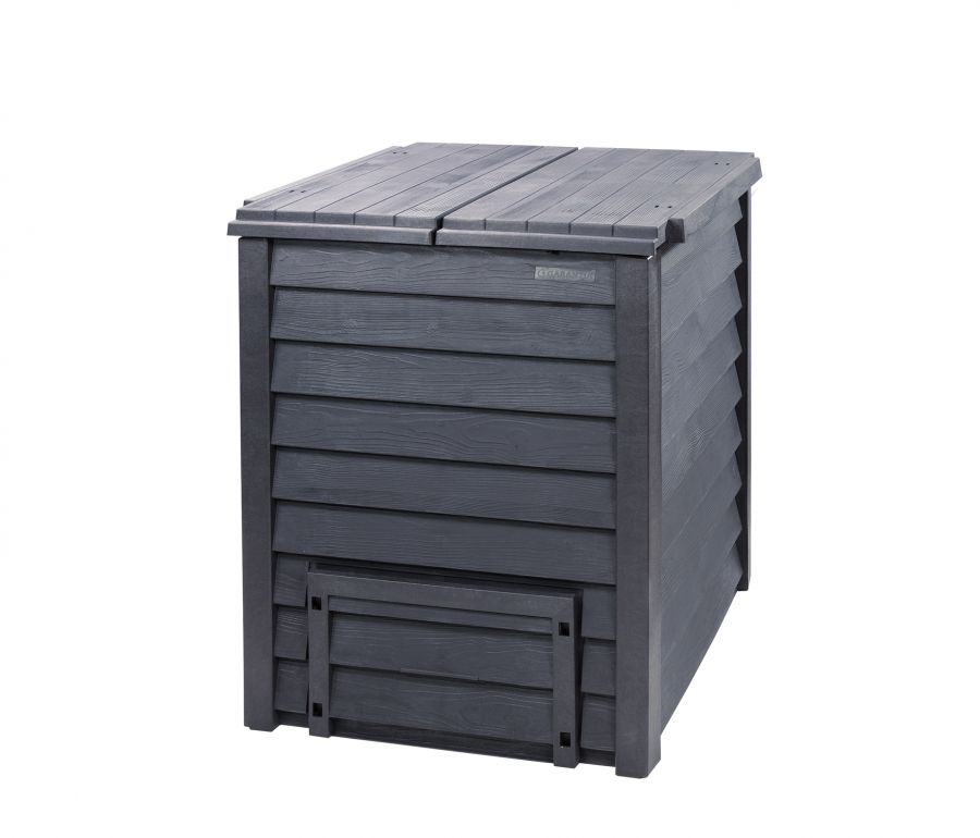 600 Litre Thermo Wood Composter With Grating