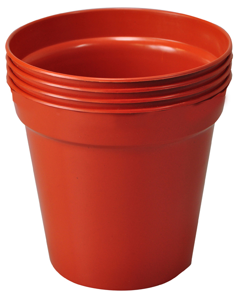 "12.7cm (5"") Pack of 4 Plant Pots"