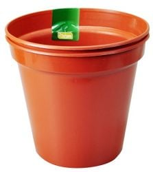 "18cm (7"") Pack of 2 Plant Pots"