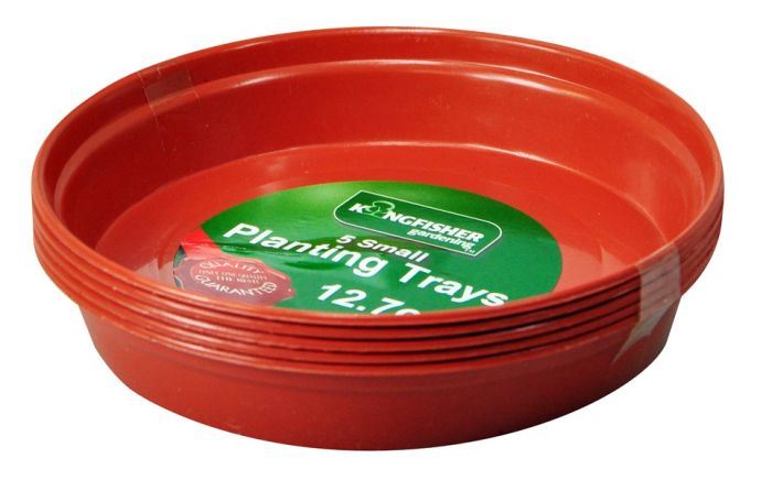 Plant Pot Trays For 12.7cm (5in) Pots (Pk5)