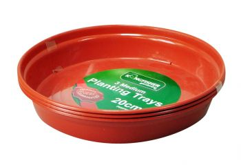 Plant Pot Trays For 20cm (7.9in) Pots (Pk3)