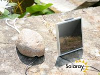 Solar Aerator / Oxygenator 2 Stone with Pebble Cover by Solaray™