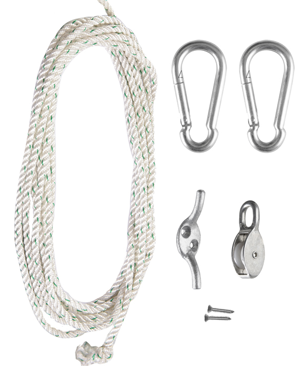 Galvanised Steel Easy Hoist Fixing Kit - Standard