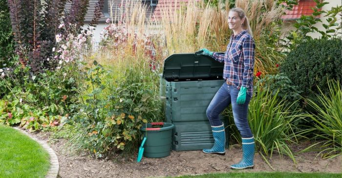 900 Litre Thermo-King Composter in Green