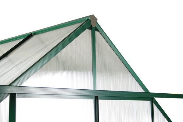 Lacewing™ 8ft x 8ft Deluxe Aluminium Frame Double Door Greenhouse