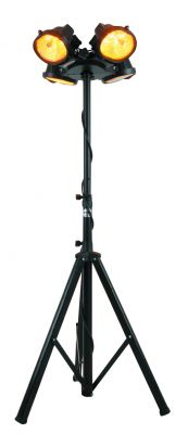 Heatmaster Black Steel Tripod For Electric Patio Heaters