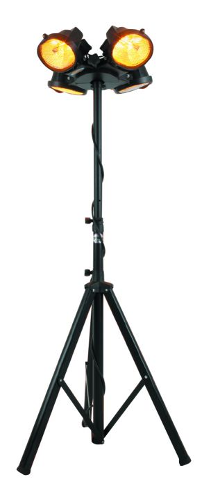 Black Steel Tripod For Electric Patio Heaters by Heatmaster™