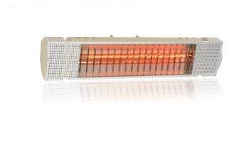 Heatmaster 1.5kW Elite Halogen Bulb Electric Infrared Patio Heater - Gold