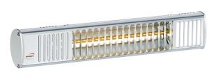 1kw Compact Aluminium Splash Proof Infrared Heater with Ultra Low Glare by Burda™