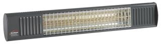 2kw Anthracite Waterproof Infrared Heater with Ultra Low Glare by Burda™