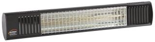 1.65kw Black Waterproof Infrared Heater with Ultra Low Glare by Burda™