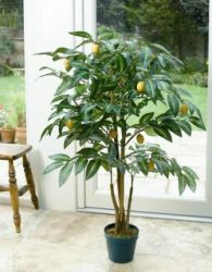 Artificial Lemon Tree - 120cm