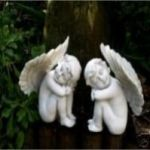 Pair of Cherubs Ornaments