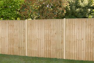 6ft x 5ft Fence Panel Pack of 3 - Pressure Treated Vertical Board
