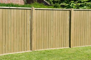 6ft x 5ft Fence Panel Pack of 3 - Pressure Treated Vertical Tongue and Groove
