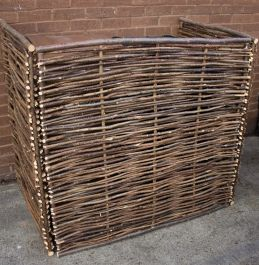 Hazel Double Wheelie Bin Screen - 115cm