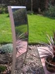 Stainless Steel Water Feature - Double Skin Concave