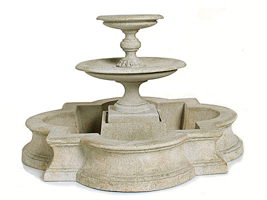 Turin fountain (with base)