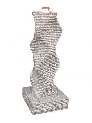 Wave Granite Water Feature - 110cm