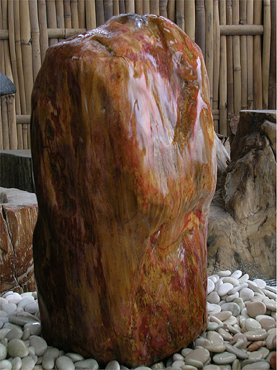 Fossilised Wood Water Feature