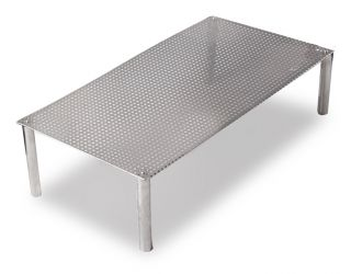 64cm x 34cm Rectangular Stainless Steel Mesh Insert - For Water Features by Ambienté