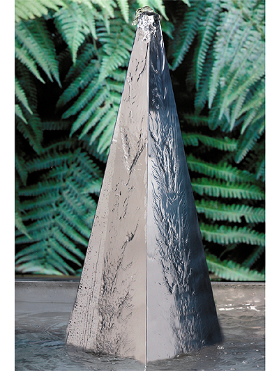 65cm Stainless steel pyramid Water Feature