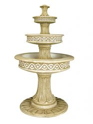 Moroccan tiered fountain