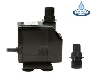 1,000LPH Mains Powered Water Feature Pump by Ambienté