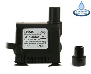 350LPH Mains Powered Water Feature Pump by Ambienté