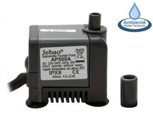 Water Feature Pumps 450 LPH - mains powered by Ambienté