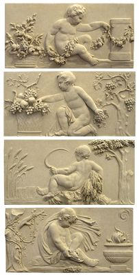 "Baroque ""Four Seasons"" Wall Murals"