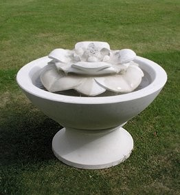 Plinth for Limestone Summer Fountain