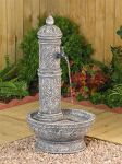 Decorative tap water feature