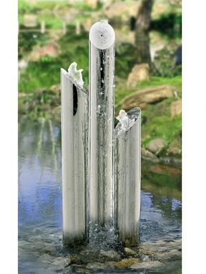 Stainless Steel Water Feature - Avon Tubes