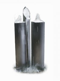 The Eclipse Trio Stainless Steel Water Feature