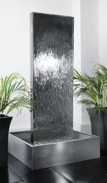 130cm  Double-Sided Vertical Water Wall with Stainless Steel Reservoir