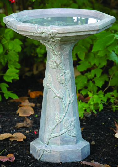 55cm Massarelli Large Vine Bird Bath