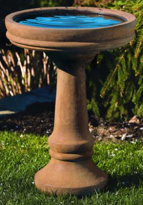 72cm Massarelli Plain and Simple Bird Bath