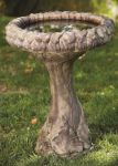 67cm Massarelli Fancy Sunflower Bird Bath