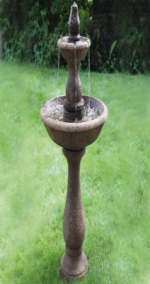 Massarelli Two Tier Boca Round Fountain
