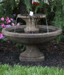 Massarelli Two Tier Bella Fountain with Lights